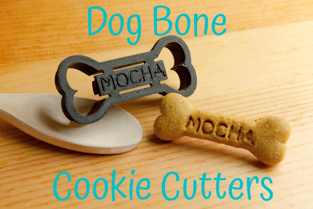 dog bone cookie cutter