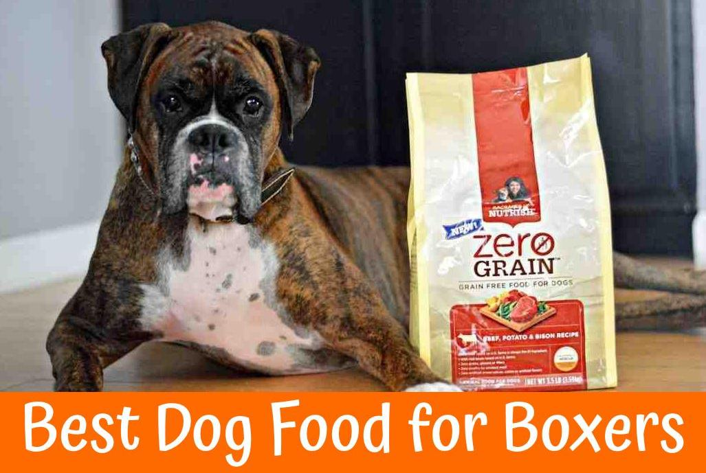 Best Dog Food For Boxers Guide For 2017 Us Bones