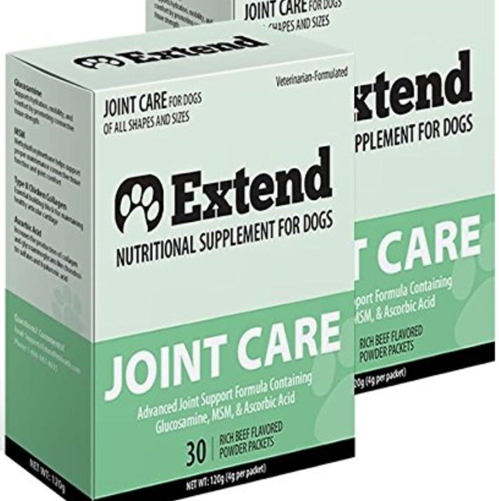 Extend – Joint Care For Dogs – 2 Box Special! with MSM