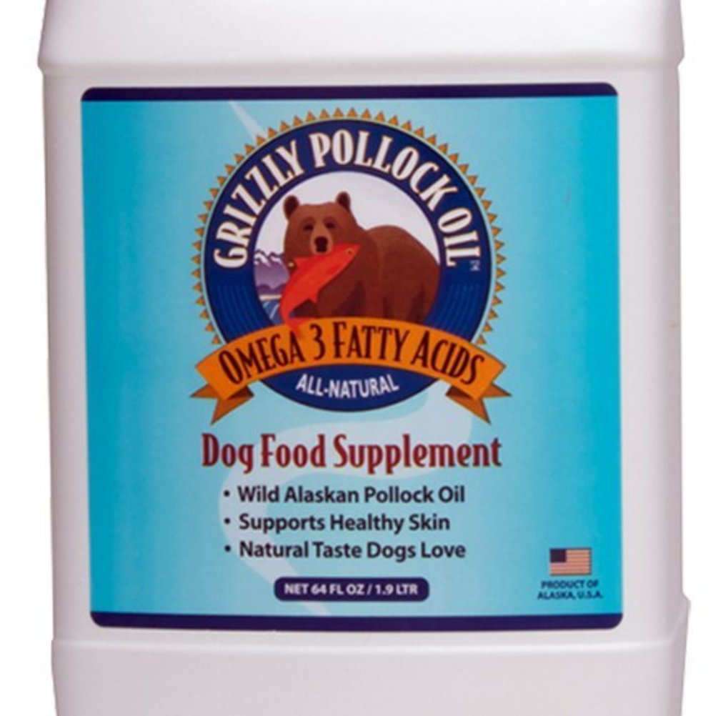 Grizzly Pollock Oil – Grizzly Pollock Oil Supplement for Dogs