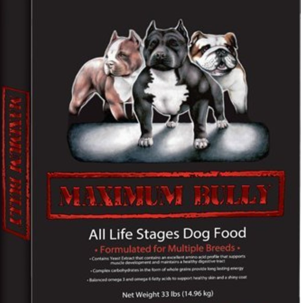 Maximum Bully Chicken and Pork Dog Food