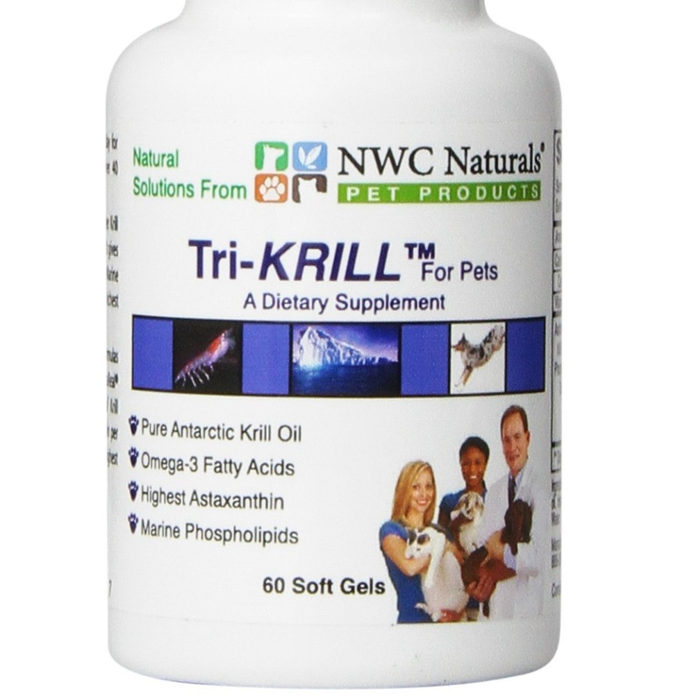 NWC Naturals Krill Oil Supplements for Pet