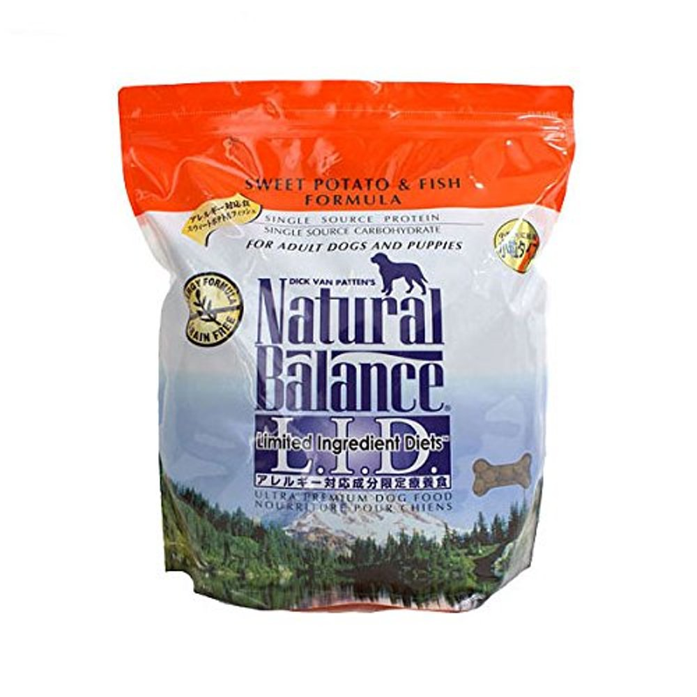 Natural Balance Limited Ingredient Diets Sweet Potato and Fish Small Breed Bites Formula for Dogs