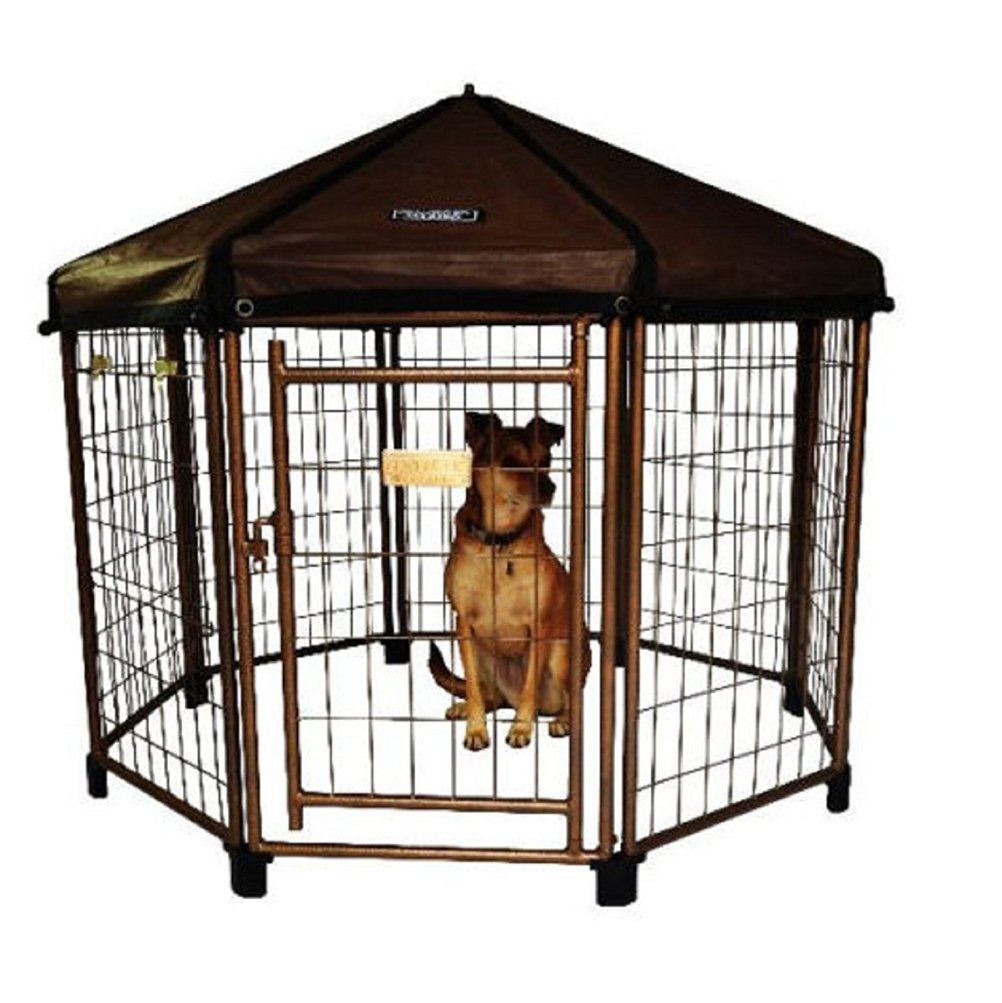 Outdoor Dog Gazebo Shelter Kennel Pet