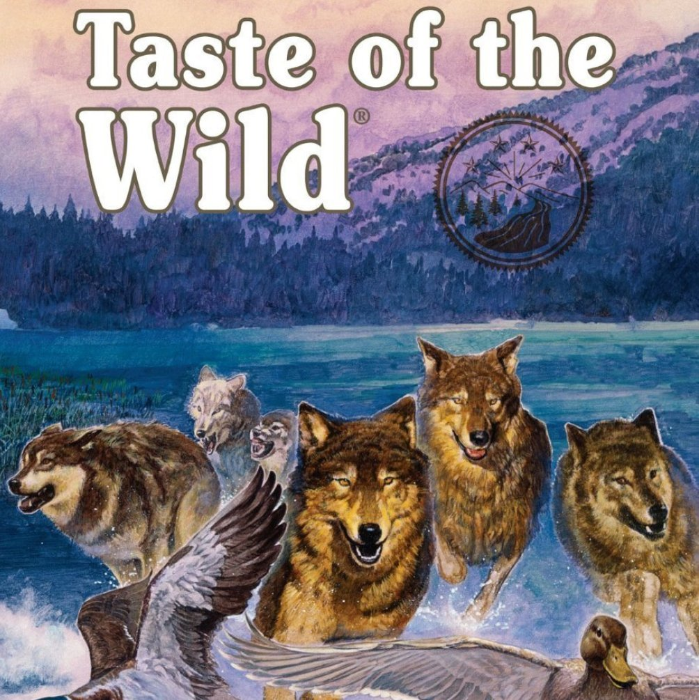 Taste of the Wild Wetlands Grain-Free Dry Dog Food